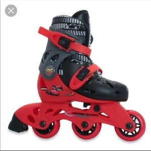 DISNEY Cars Convertible trainer skates,J6-J9!